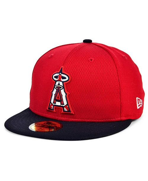 New Era Los Angeles Angels 2020 Batting Practice 59FIFTY-FITTED Cap