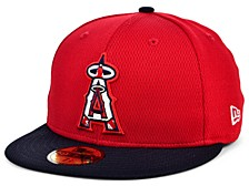Kids Los Angeles Angels 2020 Batting Practice 59FIFTY-FITTED Cap
