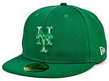 New York Mets 2020 Men's St. Pattys Day Fitted Cap