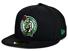 Boston Celtics Men's All Around Fitted Cap