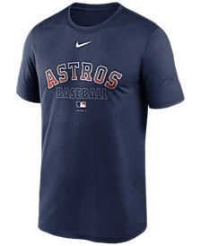 Houston Astros Men's Authentic Collection Legend Practice T-Shirt