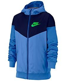 Sportswear Big Boys Wind Runner Jacket