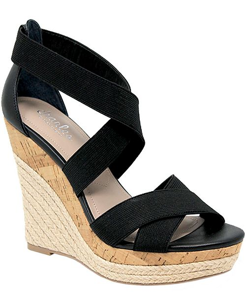 CHARLES by Charles David Azures Wedge Sandals