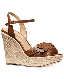 Flora Espadrille Wedge Sandals