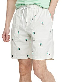 Men's Toucan Seersucker 9'' Shorts