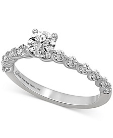 Bliss Monique Luhillier Diamond Engagement Ring (1 ct. t.w.) in 14k White Gold