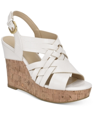 Guess HAELA WEDGE SANDALS WOMEN'S SHOES