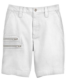 INC Men's Regular-Fit Zipper Shorts, Created for Macy's
