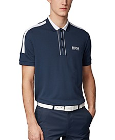 BOSS Men's Paddy MK Navy Polo Shirt