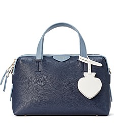Taffie Leather Satchel