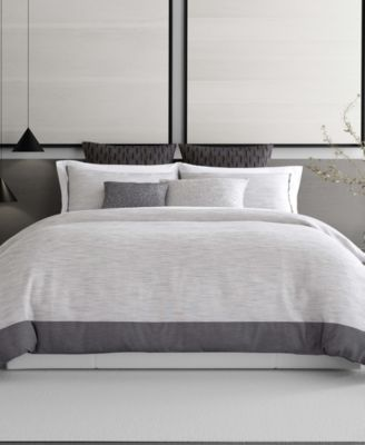 Grisaille Weave King Duvet Cover