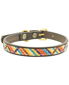 Meeka Leather Dog Collar, Small