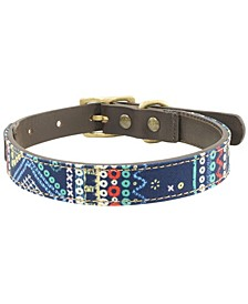Berkley Leather Dog Collar, Medium