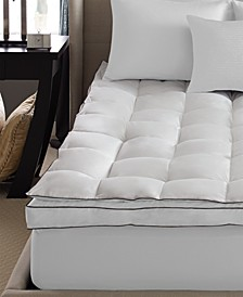 Pacific Coast Down on Top Feather Bed Mattress Topper, Queen