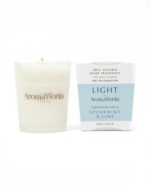 Light Range Spearmint and Lime Candle