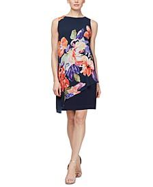 Asymmetrical-Overlay Dress