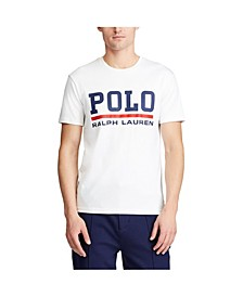 폴로 랄프로렌 Polo Ralph Lauren Mens Classic Fit Interlock T-Shirt,White