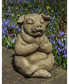 Zen Pig Garden Statue