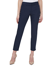 Tommy Hilfiger Flex-Fit Ankle Pants