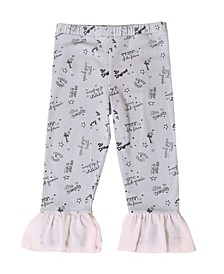 Toddler Girls Chiffon Legging