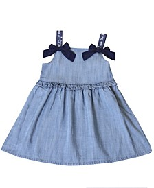 Toddler Girls Chambray Dress