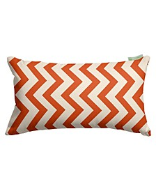 "Chevron Decorative Soft Throw Pillow Small 20"" x 12"""