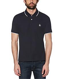 Men's Sticker Pete Pique Polo Shirt