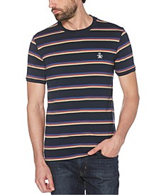 Men's Multi Stripe Short Sleeve T-Shirt