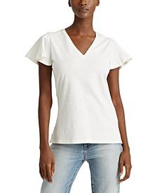 Petite Soft Cotton T-Shirt