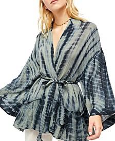 Sasha Tie-Dye Kimono Jacket