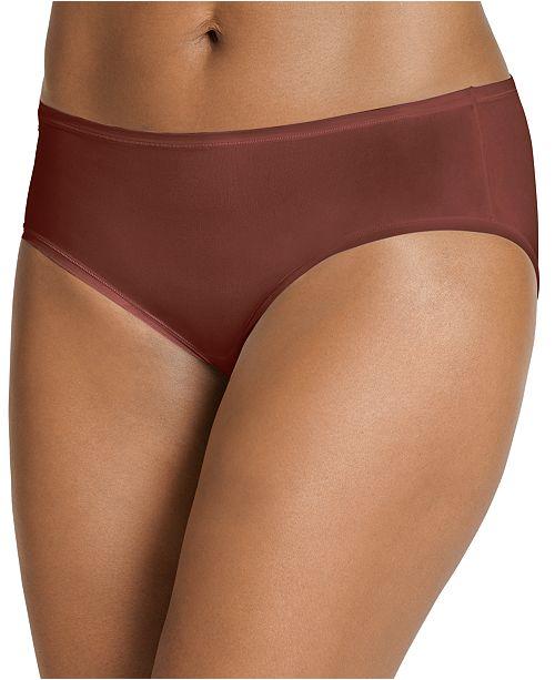 Jockey Women's TrueFit Promise One Size Hipster Underwear 3375