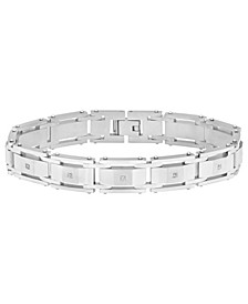 Men's Riveted Link Bracelet