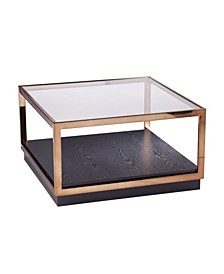 Elya Glass Top Cocktail Table