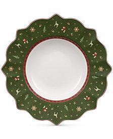 Villeroy & Boch Toy's Delight Green Rim Soup Bowl