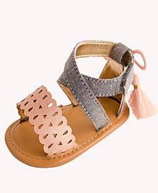 Baby Girls Banded Sandal