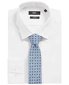 BOSS Men's Pastel Blue Tie