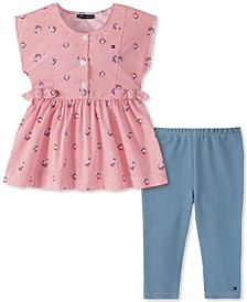 Baby Girls 2-Pc. Tunic & Jeggings Set