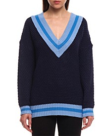 Heavenly Blue Fashion Sweater
