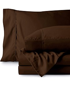Double Brushed Sheet Set, Queen