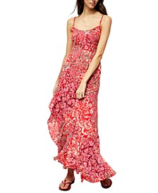 Forever Yours Smocked Slip Maxi Dress