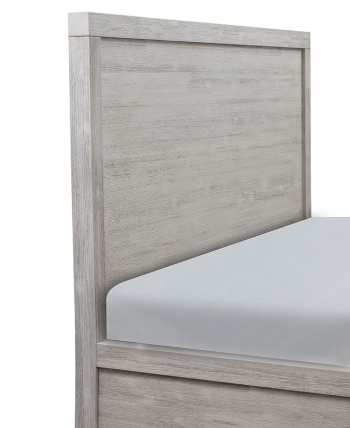 Furniture Canyon White Platform 3-Pc. Bedroom Set (King Bed, Dresser & Nightstand), Created for Macy's      & Reviews - Furniture - Macy's