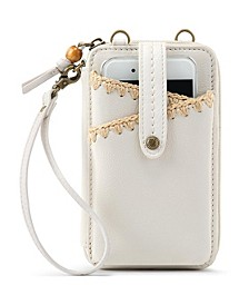Iris North South Leather Smartphone Crossbody