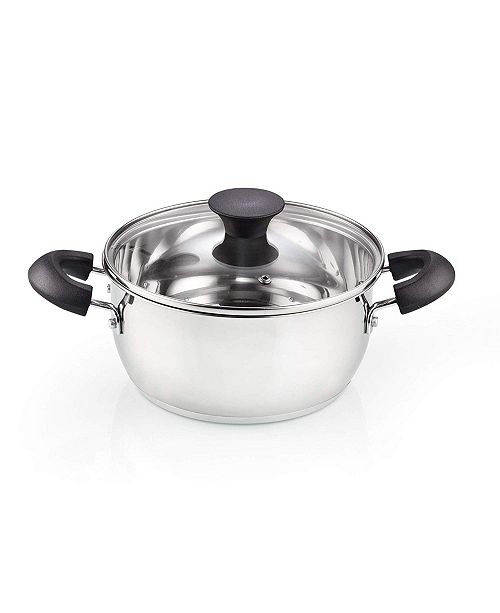 Cook N Home 3 Quarts Casserole Saucepot with Lid