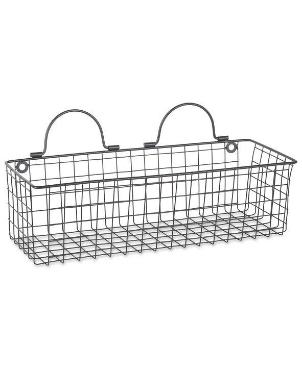 Design Imports Medium 2-Pc. Wire Wall Basket Set & Reviews