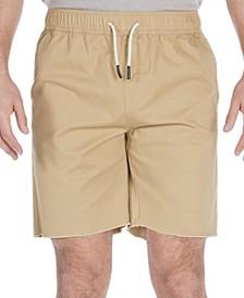 Men's Alsaka Regular-Fit Stretch Twill Jogger Shorts