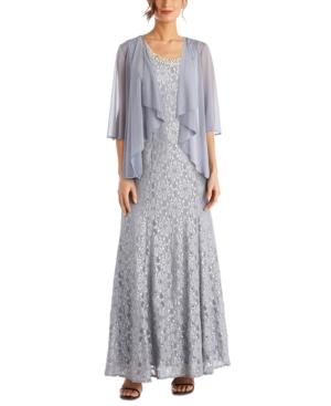 1930s Evening Dresses | Old Hollywood Silver Screen Dresses R  M Richards Beaded Dress  Flyaway Jacket $139.00 AT vintagedancer.com