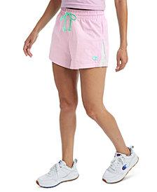 Champion Women's Seersucker High-Rise Shorts