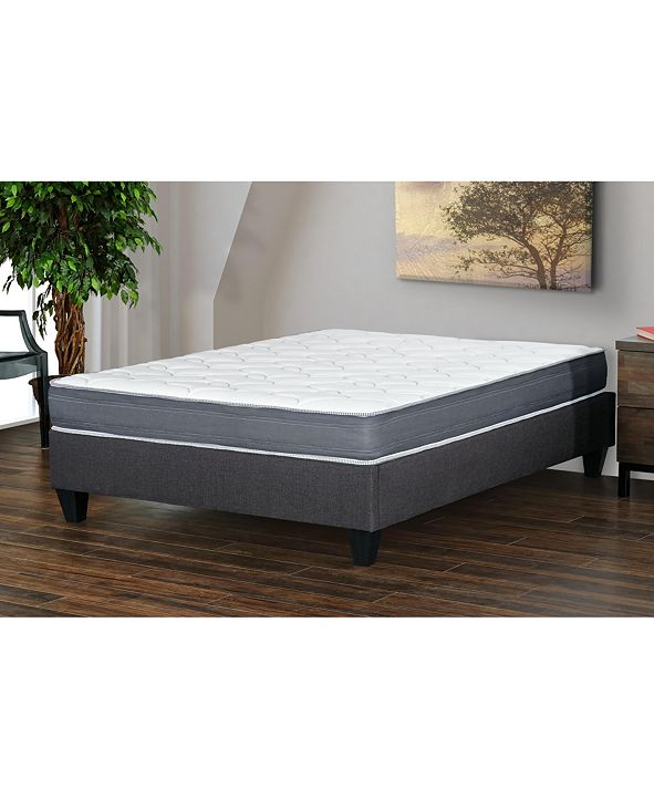 "Primo International Primo Aida 8"" Memory Foam Cushion Firm Mattress - Full"