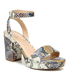 Cabey Two-Piece Platform Sandals, Created for Macy's