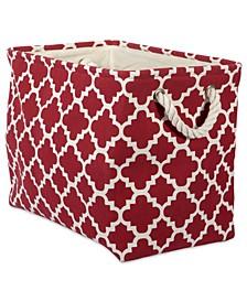 Polyester Bin Lattice Rectangle Medium